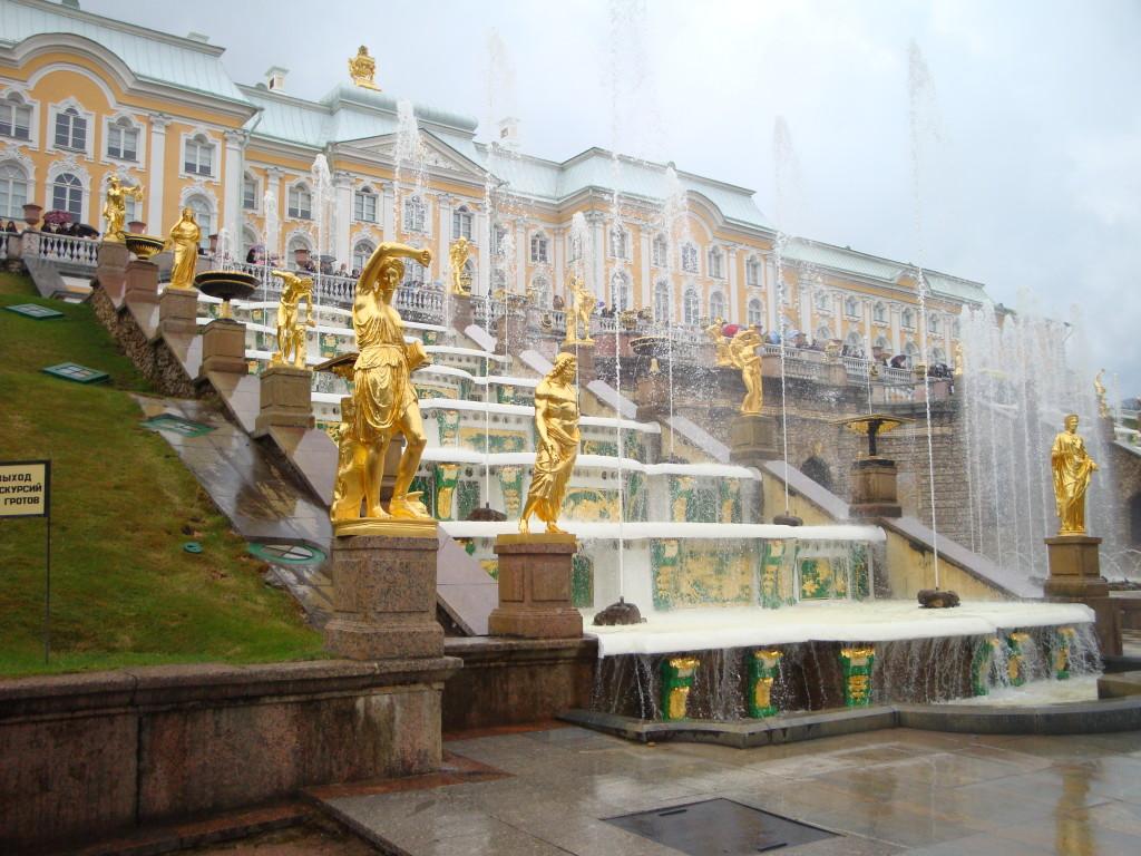 Петергоф парк