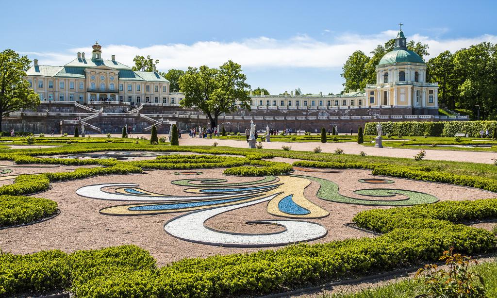 парковый ансамбль Ораниенбаум