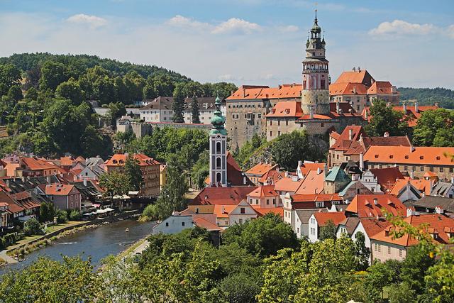 Прага Чешский Крумлов