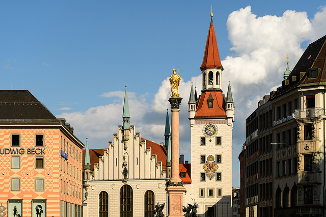 Бесплатные экскурсии в Мюнхене