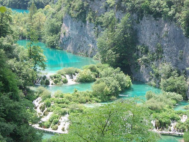 Плитвицкие озера Хорватия