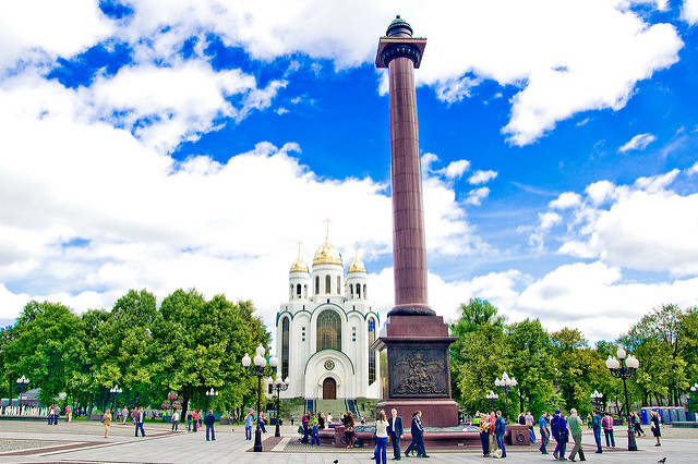 Калининград летом