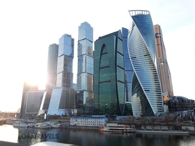 Панорама Москва-сити