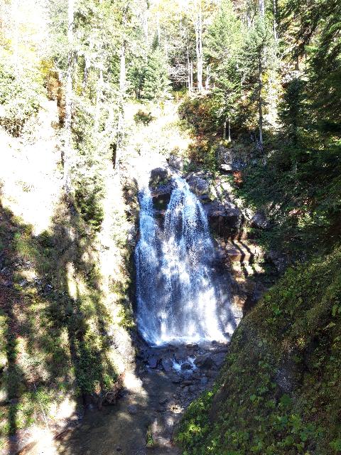 В парке водопадов Менделиха/Loratravels