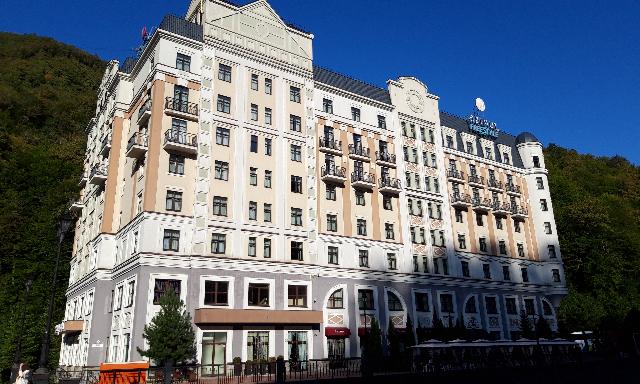 Отель Азимут Фристайл Роза Хутор/Loratravels