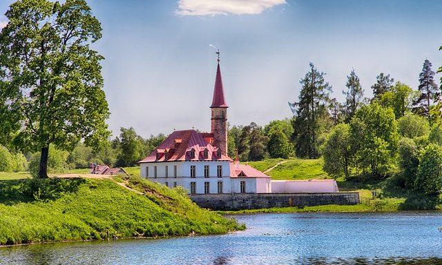 Пейзажи Гатчинского парка