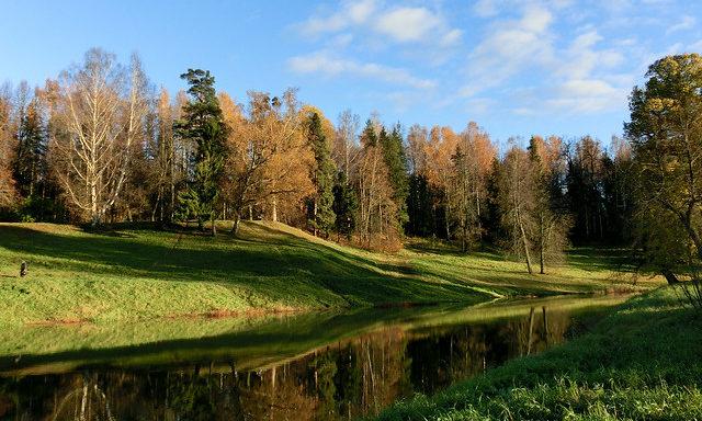 Пейзаж Павловска