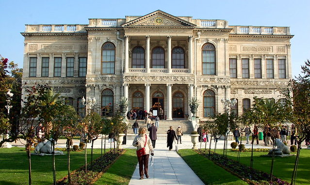 Дворец в Стамбуле