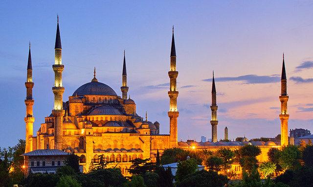 Вечерний Стамбул