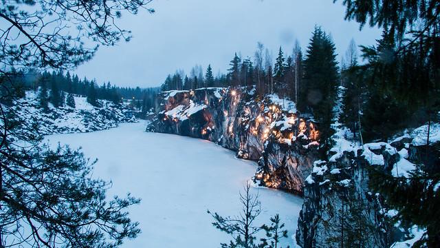 Зимняя Рускеала