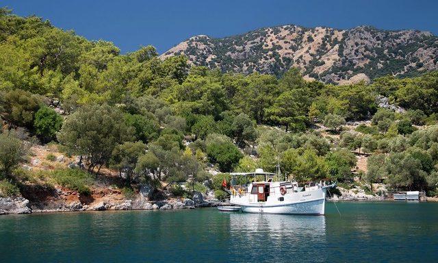 Красоты побережья Эгейского моря