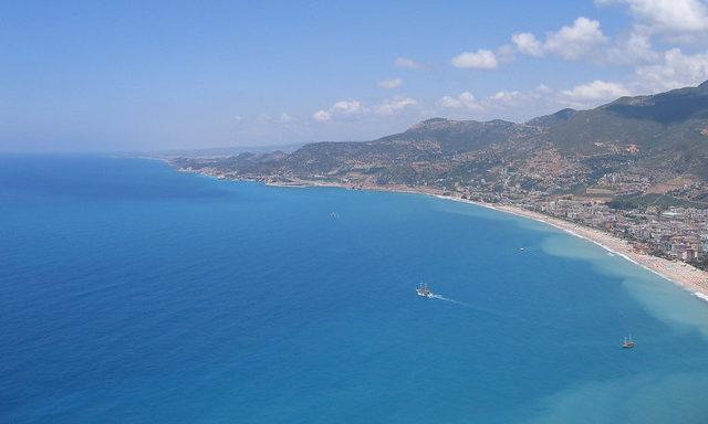 Морские пейзажи Алании